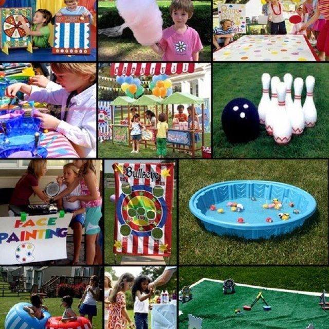 12 Fun Circus Carnival Party Games: 17 Best Images About Marlie's Carnival Party On Pinterest