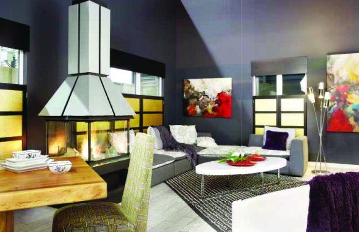 La tendance est aux aires ouvertes, harmonie des styles et des matériaux - Sofa Déco 2011