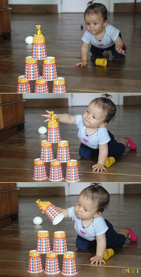 Pista de obstáculos para os bebês - TempoJunto