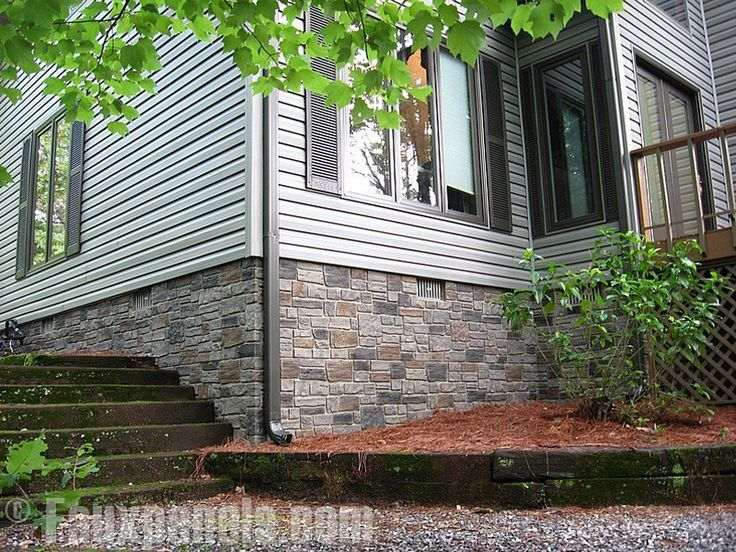 77 best images about outside on pinterest lattice deck for Brick looking siding
