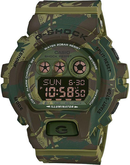 Zegarek męski Casio G-Shock  GD-X6900MC-3ER - sklep internetowy www.zegarek.net zielony moro