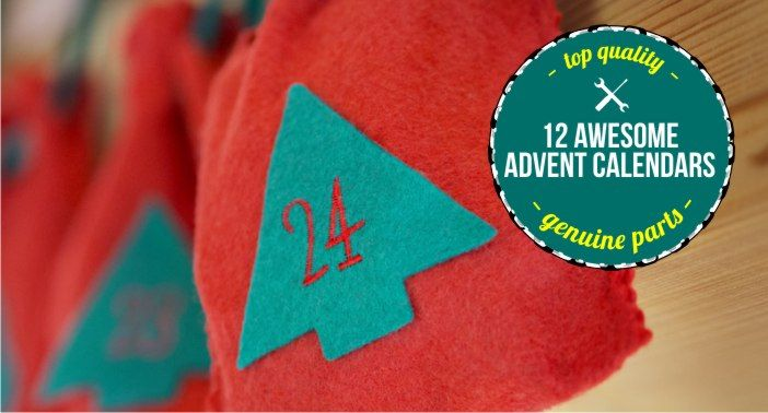 12 Awesome Advent Calendar Ideas - Great information, tips, crafts and recipes for School Mums.