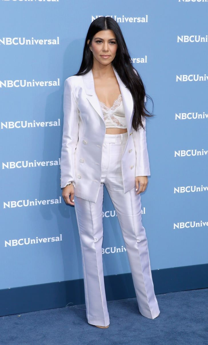 d04b230d39cf 12 Times Kourtney Kardashian Taught Us All How to Wear a Pantsuit  pantsuit   kardshian