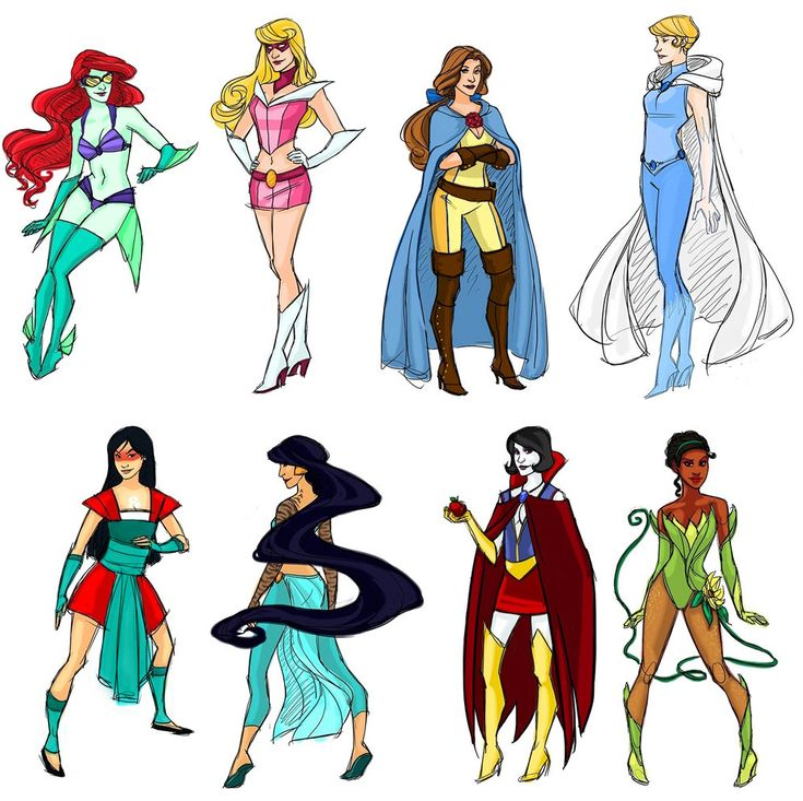 #Superhero #Disney #Princesses, just 1 of 10 different artist renditions at http://www.redesignrevolution.com/2012/06/top-10-artist-recreations-disney-princesses/!