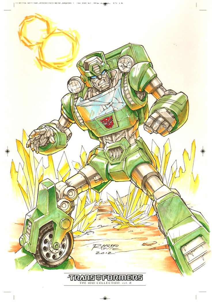 Kup #1 for Transformers IDW Limited Volume 2 by ~REX-203 on deviantART - Autobot