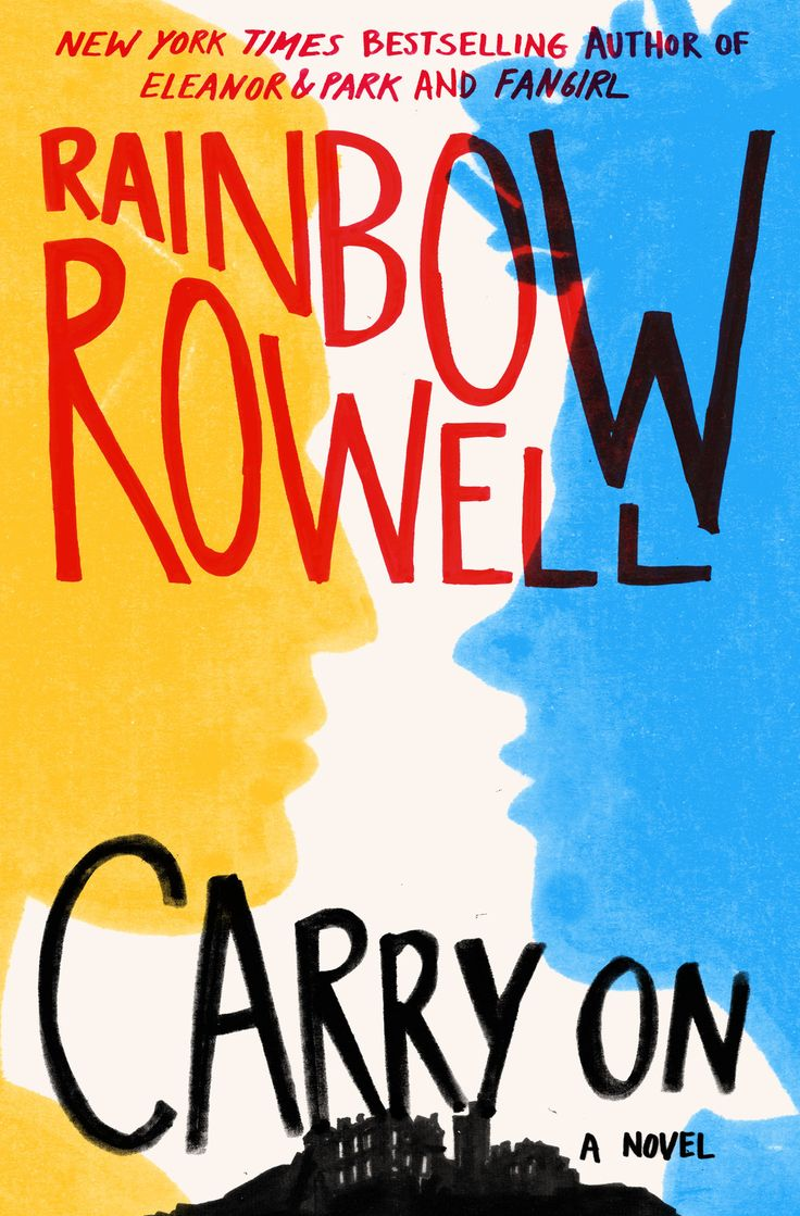 Carry On by Rainbow Rowell, 527 pp, RL: Teen. Simon Snow and Baz Pitch, stars of the Gemma T. Leslie series of books that Cath & Wren wrote fanfic about in Rowell's FANGIRL, get their own book, and their own ending. It is every bit as satisfying as fans of FANGIRL could have hoped for!