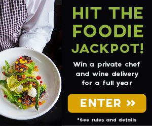 Win a private chef, wine delivery + more for a full year! Ready to wine and dine all year long? Enter now: tastingtable.com/datenight2014