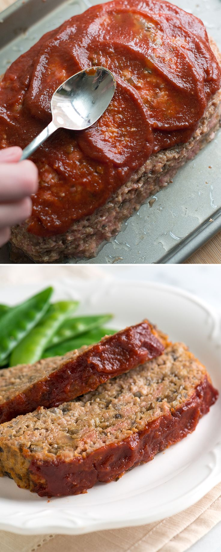 Until now, we've only been able to make somewhat dry meatloaf that's not really got anything going on with flavor. That's why we never really felt like making it. We just about gave up, but then we stumbled across a little secret. One that turned typical turkey meatloaf into something we crave and now make often. From inspiredtaste.net @inspiredtaste