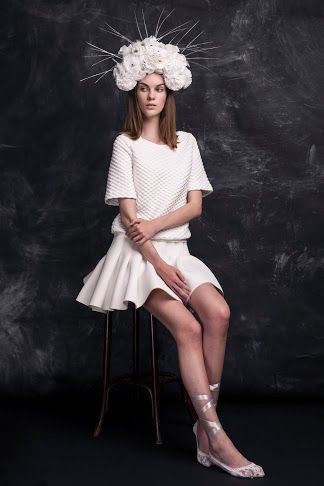 Exam Photshooting - The Fall Violetta/Visage Models Hungary Photographed by Attila Oláh, styled by me