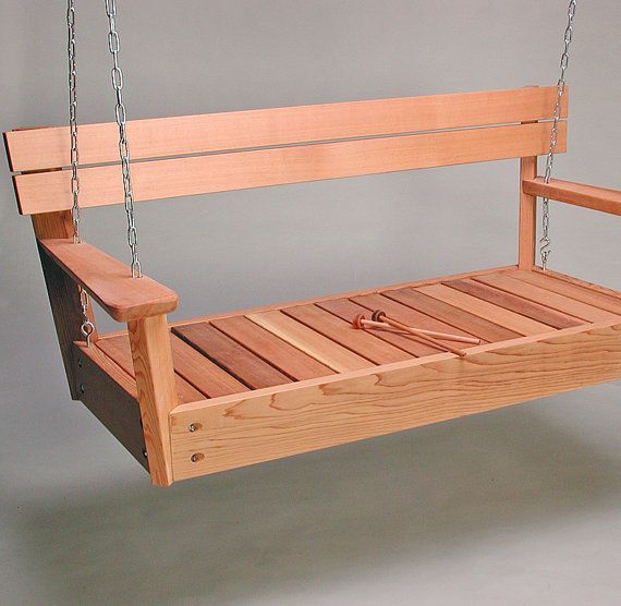 Swinging musical bench!
