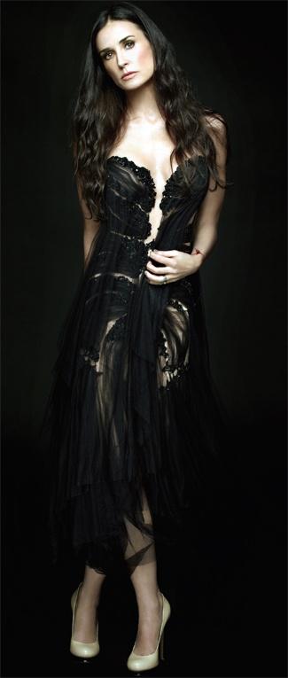 Demi Moore for Gotham magazine Nov 2011