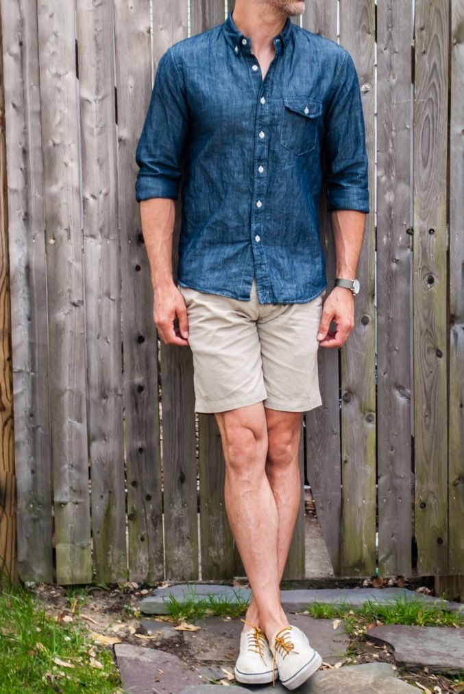Cool Khaki Shorts