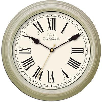 Redbourn Cream Wall Clock 30cm