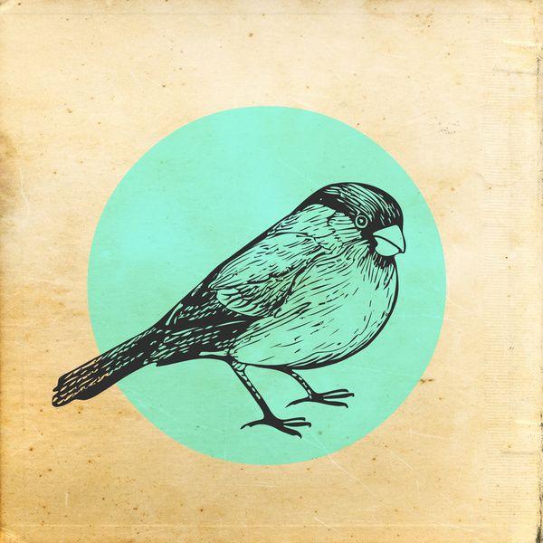 Paper birds 1 art print