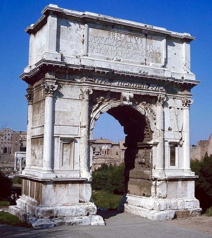 Best 20+ Arch Of Titus ideas on Pinterest | Roma d italia ...