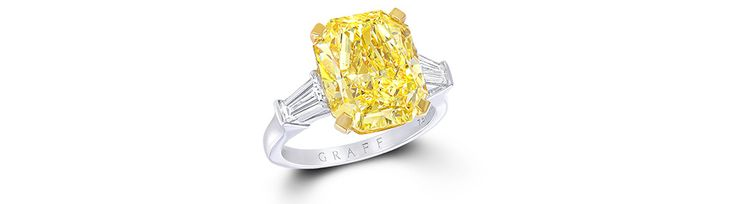 Diamant jaune GRAFF