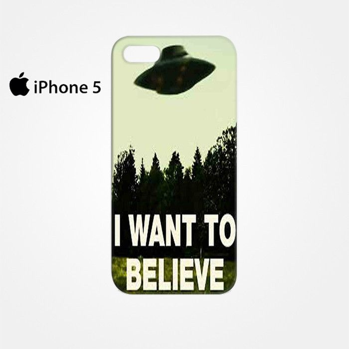 The X Files I Want To Believe for Iphone 4/4S Iphone 5/5S/5C Iphone 6/6S/6S Plus/6 Plus 3D Phone case