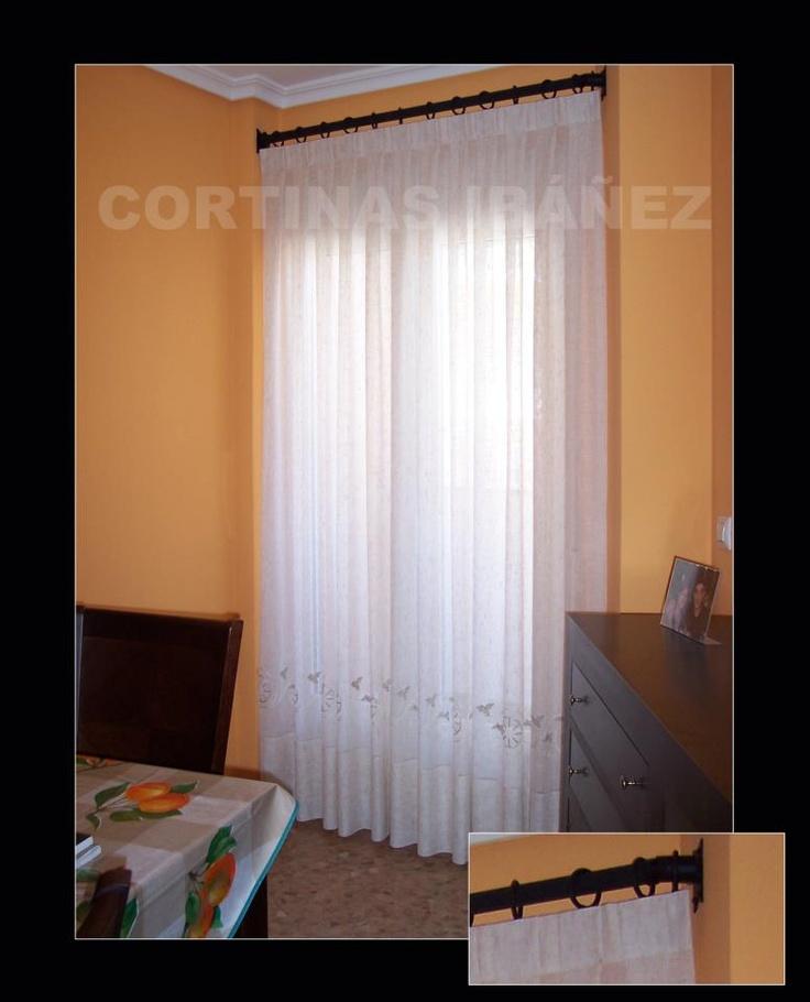 Mejores 46 im genes de cortinajes para ventanas en for Cortinas y visillos confeccionados