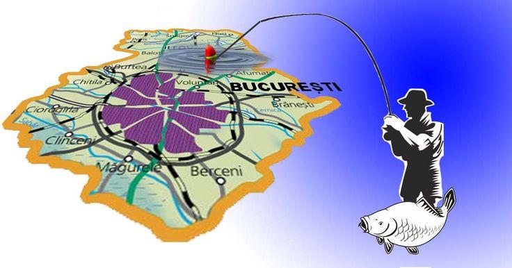 Unde poți pescui în București. Bălți de pescuit lângă București.