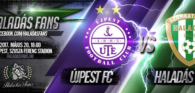 Újpest FC – Szombathelyi Haladás 2-1 (1-0)
