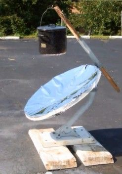 How to Make a Parabolic Solar Cooker.  Survival Doc of The New Survivalist web…