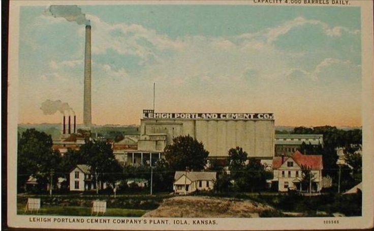 Lehigh Portland Cement : Images about iola on pinterest