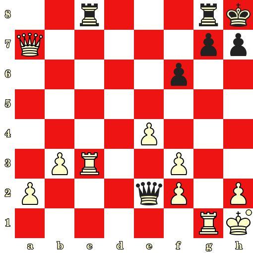 Special Monaco Chess Training. White Mates in 3. Kosteniuk vs Irina Zakurdjaeva, Sochi, 1998 #echecs #chess #ajedrez www.jouer-aux-echecs.com