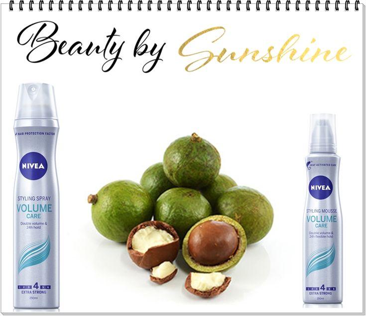 Descopera gamele de hairstyling de la Nivea cu ulei de Macadamia