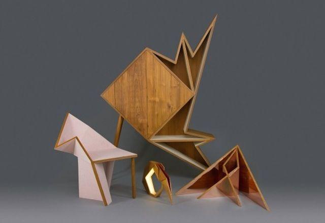 Wooden Origami Furniture Collection – Fubiz Media