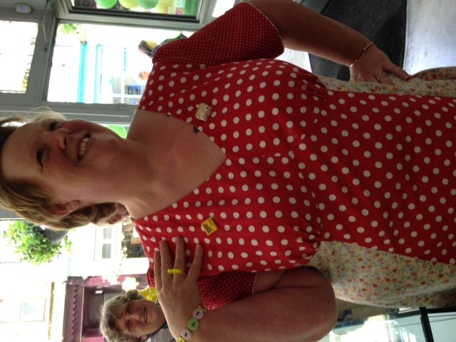 helen at ribbon circus and her le tour ring!