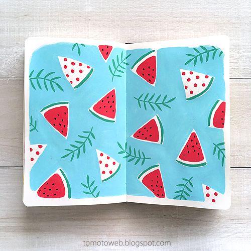 tomoto: Fruits Patterns