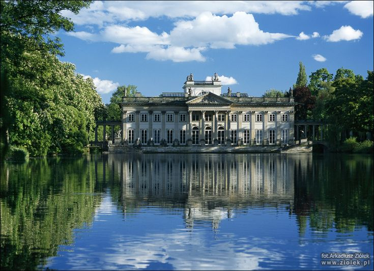Pałac na Wyspie - fotografia