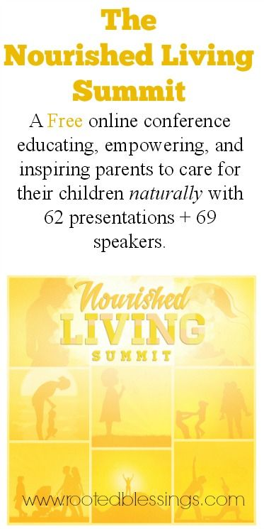The Nourished Living Summit - FREE online Natural Parenting Online Health Event