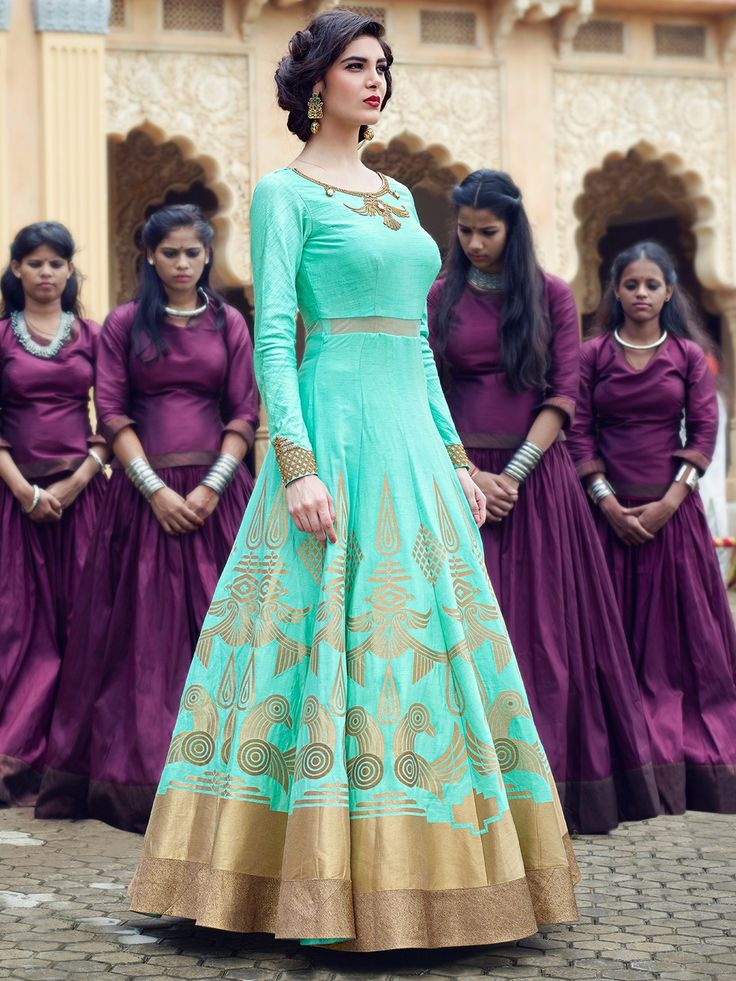 aqua_raw_silk_anarkali_suit_148137158612_nargis_compressed.jpg (1080×1440)