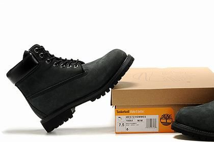 Cheap Timberland Hombres 6 Inch Botas Matte Black