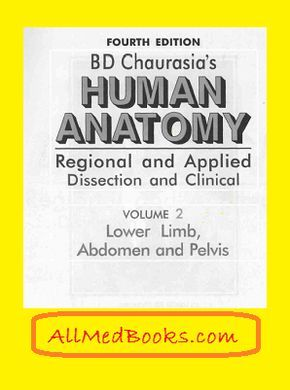 BD Chaurasia's Human Anatomy [All volume] - WOMS