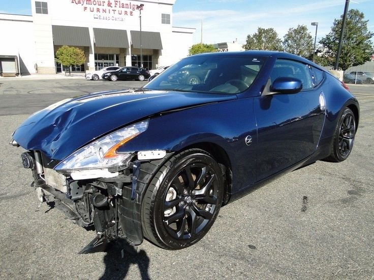 fast 2015 Nissan 370Z Sport repairable