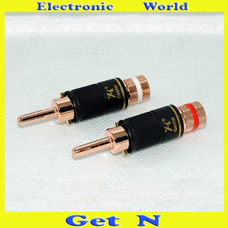 $27.30 (Buy here: https://alitems.com/g/1e8d114494ebda23ff8b16525dc3e8/?i=5&ulp=https%3A%2F%2Fwww.aliexpress.com%2Fitem%2F2pcs-Gaofei-GF-RED018B-Red-Copper-Banana-Connectors-Plugs-Locking-Audio-Speaker-Amplifier-Cable-Banana-Jack%2F1000001398947.html ) 2pcs Gaofei GF-RED018B Red Copper Banana Connectors Plugs Locking Audio Speaker Amplifier Cable Banana Jack/Socket for just $27.30