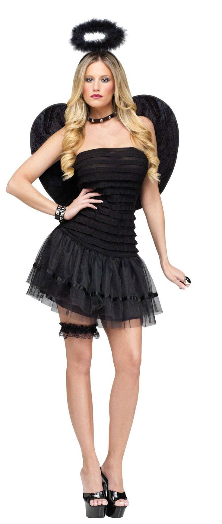 Black dress costume ideas - Find This Pin And More On Costume Ideas