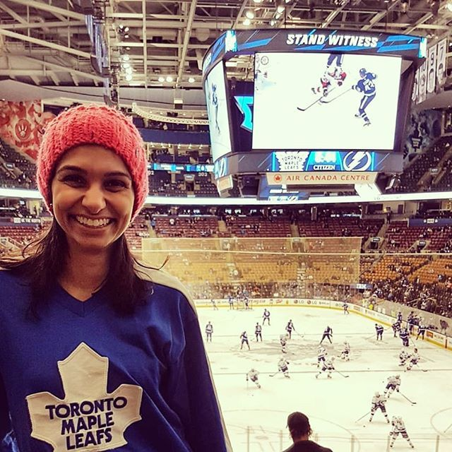 My first Leaf game last night! #mapleleafs  It's so fun to have a 'first' experience! First date first game first avocado toast!   I was talking to a patient the other day and she was telling me how she had been with her spouse for so long that it felt like they were now roommates. It makes sense how life gets into a routine. Work kids habits chores.  Throw in some #stress like #fertilty or illness and it can be hard to find time or energy to reconnect with your partner or yourself for that…
