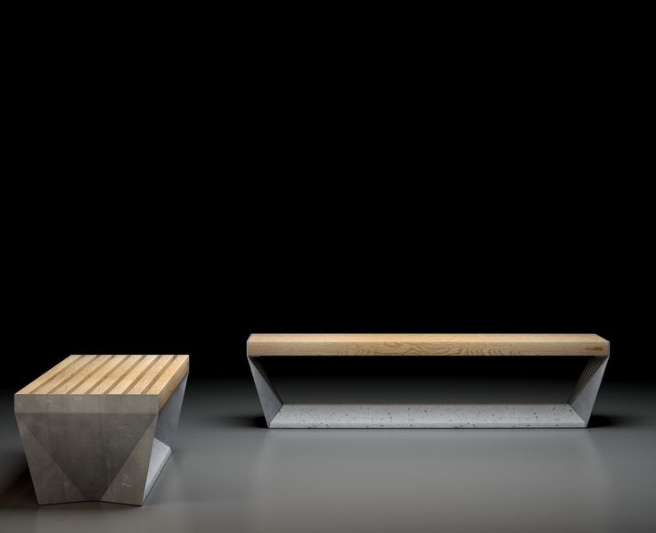 FOLD bench from Innoform in Norway. For urban public spaces, indoors and outdoors. Select wood, steel and concrete. Simplicity and solidity. Discrete and elegant.