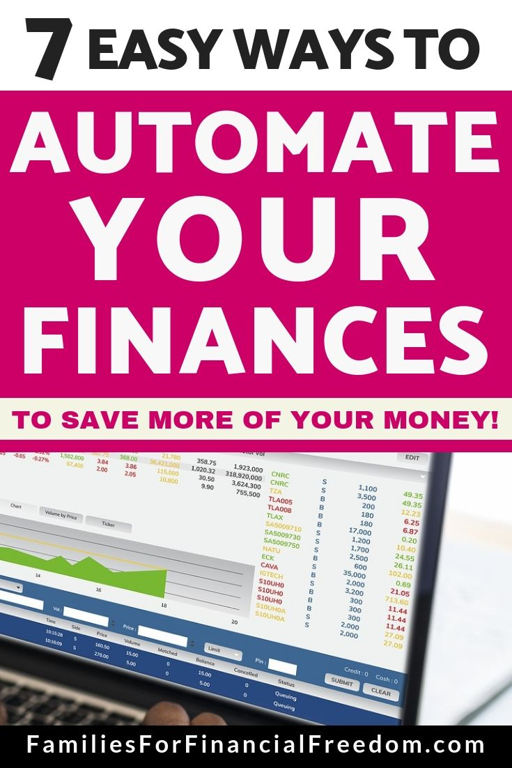 7 Simple Steps to Automate Your Money! – Automate Your Finances