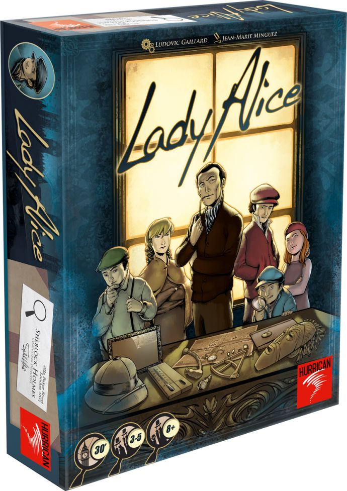 *Bought! Lady Alice. Deduction game.