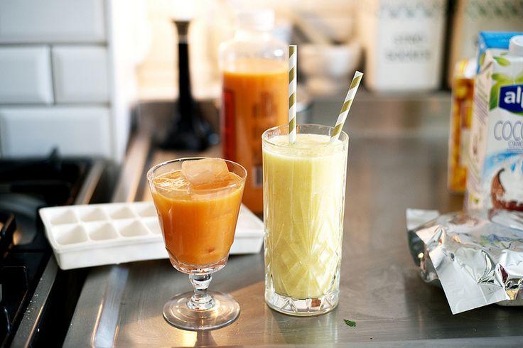 Elsa Billgren: Enkel tropisk smoothie