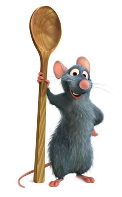 Image result for ratatouille remy spoon