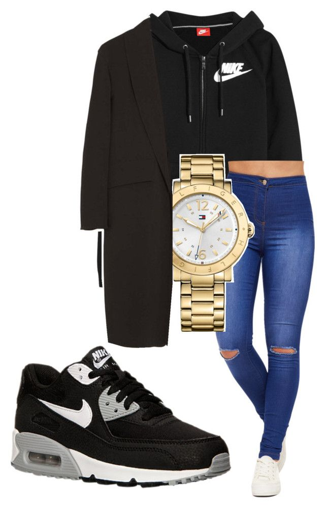 """Untitled #123"" by rabiamiah on Polyvore featuring NIKE, WearAll, Tommy Hilfiger and Alexander Wang"