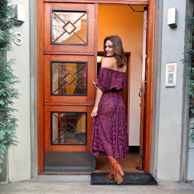 Kjole med bare skundre på 20min | Jenny Skavlan