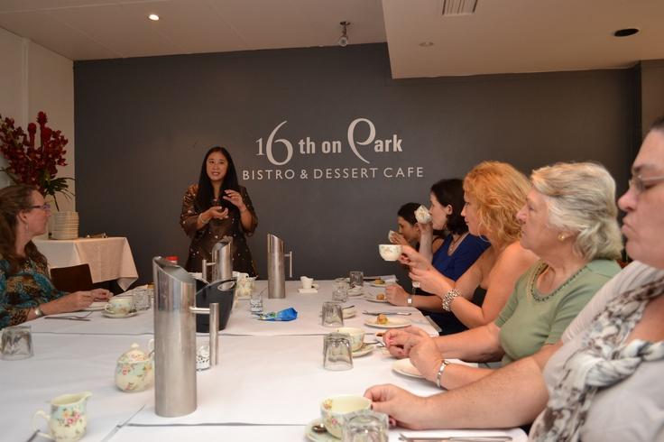 Explaining the Australian Green Tea and Vegetarian Spring Roll pairing