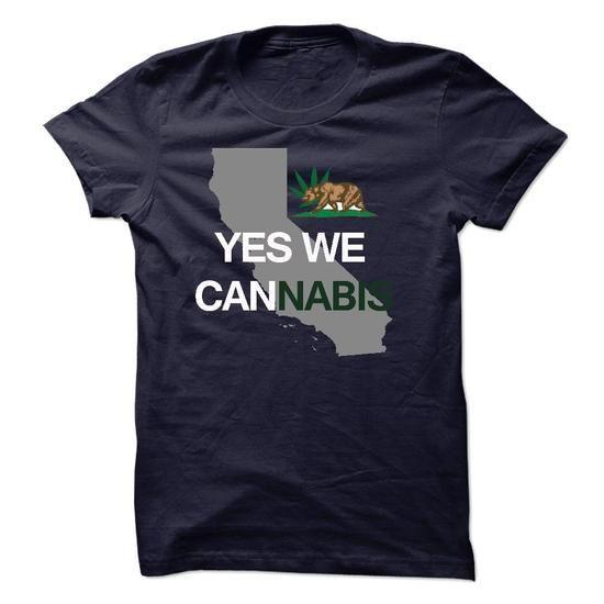 Awesome Tee California Cannabis - Yes We Cannabis Shirts & Tees