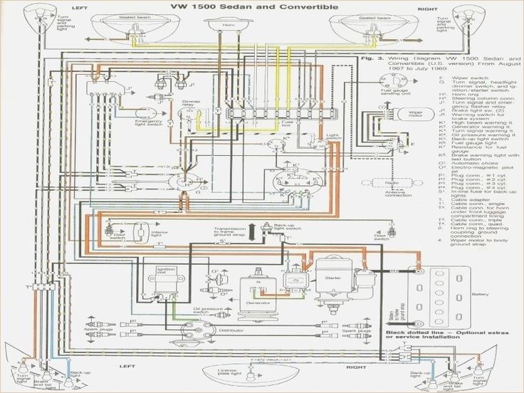 1969 Beetle Wiring Diagram Vw Beetle Wiring Diagram 1974